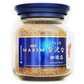【吉嘉食品】AGF MAXIM 華麗香醇咖啡(藍)/香醇摩卡咖啡(紅) 1罐80公克140元,日本進口,另有箴言金咖啡