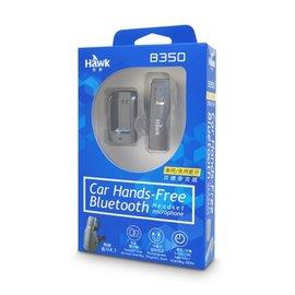 傑仲 ^(有發票^) 逸盛科技 貨 Hawk B350 車用免持藍芽耳機麥克風 ^(鐵灰^