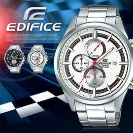 EDIFICE 智慧工藝結晶賽車錶 EFV~520D~7A 防水 CASIO EFV~52