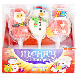 【吉嘉食品】聖誕棉花糖 1盒9入105元(純素),另有聖誕柺杖糖{105-6013:1}