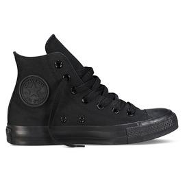 CONVERSE  ALL STAR 中筒帆布鞋-全黑 M3310C