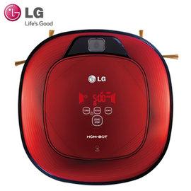 【LG】LG 雙眼 小精靈 掃地機器人(VR64702LVM)-紅 加贈 (HEPA 濾網 +超纖細抹布)*1