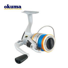 ◎百有釣具◎OKUMA 寶熊 AQUARIUS 水瓶座 AQU-1000 紡車捲線器 ~超值 搭配日本YGK 的 PE線