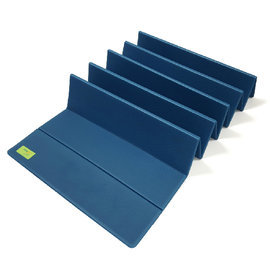~Yoga i~pure~ 熱身折疊瑜珈墊 深藍 製 YM002