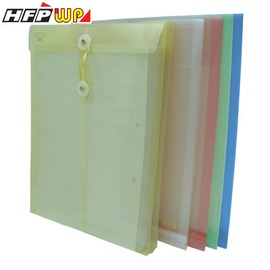 HFPWP 加大直式壓花透明文件袋 環保 GF119~10 製 10入 包