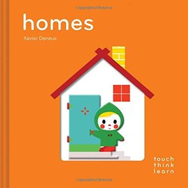 Touch Think Learn: Homes 觸摸認知硬頁書 溫暖的家