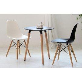 ~~北歐DSW EAMES桌 伊姆斯桌 北歐普普風餐桌 木腳桌 複刻版 圓桌 茶几咖啡廳桌