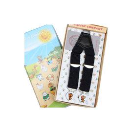 順時針3夾兒童吊帶 包塑卡通強力夾 粗股針織帶抗彈性疲乏 3~6歲  立發 Major s