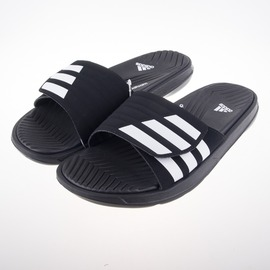 ADIDAS  IZAMO CF 柔軟 運動拖鞋-黑 S77989
