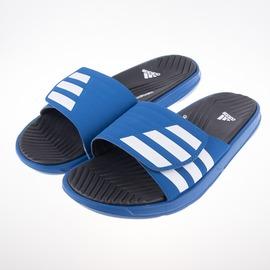 ADIDAS  IZAMO CF 柔軟 運動拖鞋-藍 S77988