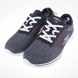 Skechers  (女) 健走系列 GO Walk 4 女慢跑鞋 14146BKHP