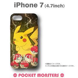 Hamee  神奇寶貝 精靈寶可夢 寵物小精靈 硬式 iPhone7 手機殼 ^(皮卡丘^