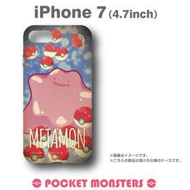 Hamee  神奇寶貝 精靈寶可夢 寵物小精靈 硬式 iPhone7 手機殼 ^(百變怪^