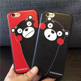 iphone7 熊本熊磨砂軟邊 熊本熊 iphone7plus 手機殼 軟殼 卡通 全包邊