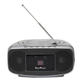 【福利品出清下殺.免運費!】True Power 數位螢幕顯示手提CD音響TP-C688