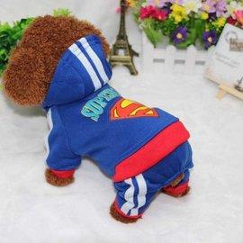 DP雜貨鋪 寵物變身裝英雄系列四腳衣 超人 蝙蝠俠貓狗衣服 貴賓 比熊 馬爾濟斯 博美