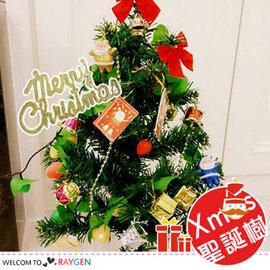 DIY迷你聖誕樹套裝組 水果燈 60cm 贈轉接頭【HH婦幼館】