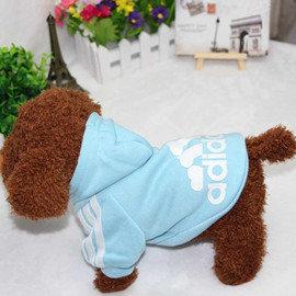 DP雜貨鋪 寵物連帽骨頭 衛衣 多色  貓狗衣服 博美 貴賓 吉娃娃 比熊