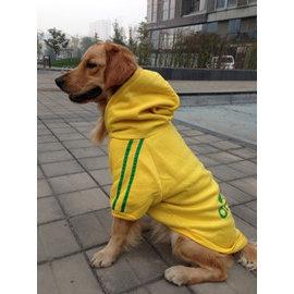 DP雜貨鋪 大型犬寵物衣服 連帽骨頭兩腳 衛衣 黃金獵犬 拉布拉多 牧羊犬