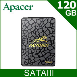【SSD】Apacer AS340 120GB SSD SATAIII 固態硬碟