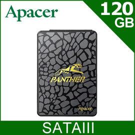 【SSD】Apacer AS340 120GB SSD SATAIII 固態硬碟