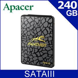 【SSD】Apacer AS340 240GB SSD SATAIII 固態硬碟