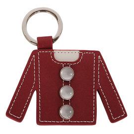 ~Omagic~agnes b. 衣服 皮革鑰匙^(紅^) 139901~87