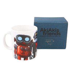 ~Omagic~agnes b.AkiAkis friend機器人馬克杯^(白^) 139