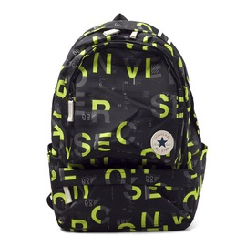 CONVERSE  休閒 個性 後背包-黑/綠 10002975-A02