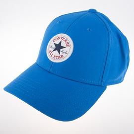 CONVERSE  復古 休閒 運動 鴨舌 運動帽-藍 10003815-A03