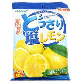 【吉嘉食品】悅情-可康海鹽檸檬糖(經濟包) 1包150公克45元{4560294952660:1}