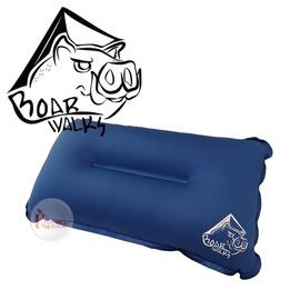 探險家戶外用品㊣NTB42 白山豬 8CM 彈性布自動充氣枕頭 (超柔軟表布)戶外露營可搭配自動充氣床墊使用