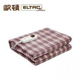 ELTAC 歐頓 微電腦溫控單人電熱毯 電暖毯 電毯 熱敷毯 EEH~B05S