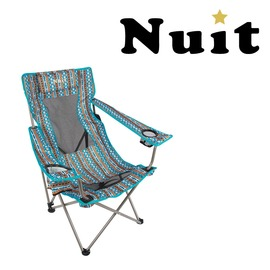 探險家戶外用品㊣NTC52YB 努特NUIT 涼山伯透氣椅 附枕頭 (民族風) 休閒椅透氣網布大川椅海灘椅沙灘椅折疊椅摺疊椅
