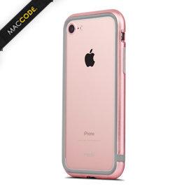Moshi iGlaze Luxe iPhone 8 / 7 雙材質 鋁合金 金屬 邊框 附透明背板 公司貨
