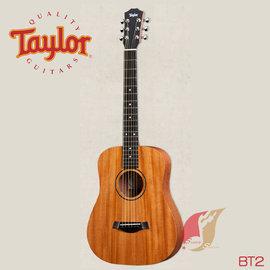 ~補給站樂器~美國Taylor BT2 民謠吉他附袋 Baby桶身 桃花心木面單