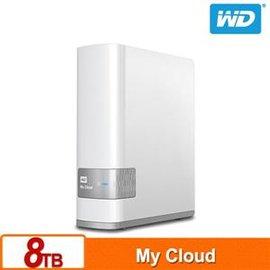 WD My Cloud 8TB 雲端儲存系統