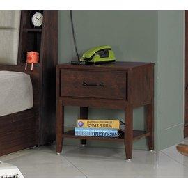~奇威居家 館 ~~D17015~6~胡桃色耐磨床頭櫃 衣櫃 雙人床 化妝台 斗櫃 傢俱