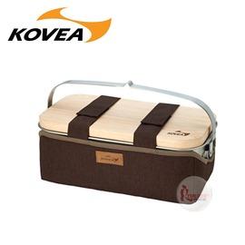 探險家戶外用品㊣KECT9JB-01韓國KOVEA AIO料理鍋+砧板收納5件組 戶外餐具收納袋關東煮小火鍋不鏽鋼鍋