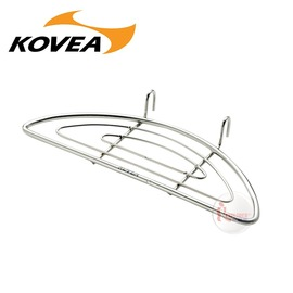 探險家戶外用品㊣KECT9QZ-01韓國KOVEA DP鑄鐵煎盤專用食材架 可搭配鑄鐵鍋鑄鐵平底鍋煎牛排炸天婦羅