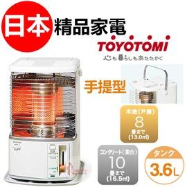 探險家戶外用品㊣RS-H29G 日本製TOYOTOMI 消臭+迷你型 2.87KW煤油暖爐 3.6L電子點火煤油爐