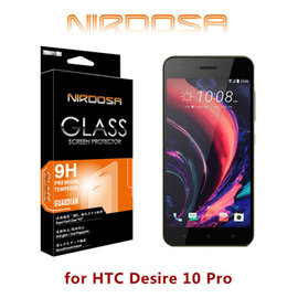 for HTC Desire 10 ProNIRDOSA 9H 0.26mm 鋼化玻璃 螢