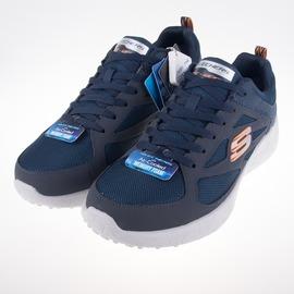Skechers  大尺碼  (男) 運動系列 Burst  慢跑鞋-藍 52102NVOR