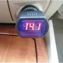 (電瓶測試) 數位顯示 汽車用 電壓 監測儀/測試器/監控儀 [CCO-00007] 特價品