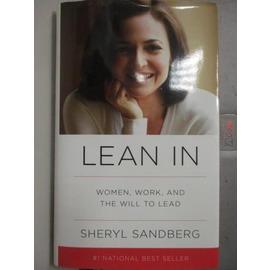 ~書寶 書T8╱傳記_ZIT~Lean In: Women Work and the Wi