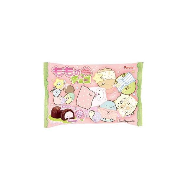 爆買   FURUTA 迪士尼 小小兵香蕉夾心巧克力 18個入165.5g 可可脂中添加植