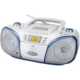 【福利品出清下殺.免運費!】JVC 手提MP3/USB音響RC-EZ57 =USB介面.MP3音樂格式播放=