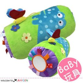森林昆蟲嬰兒多功能爬行滾筒 枕頭 益智健身玩具【HH婦幼館】