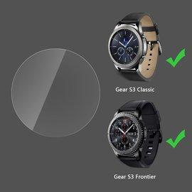 Samsung Gear S3 Frontier 智慧型手錶 防爆全屏刮高清膜/亮面透光靜電液晶錶面螢幕保護貼