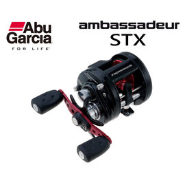 ◎百有釣具◎ABU Ambassadeur STX 鼓式捲線器 規格:AMBSTX-5600/AMBSTX-5601 高品質入門捲線器 拋投順暢 美觀又耐用